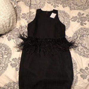 """Black """"Flapper"""" Dress. Size M. NWT"""